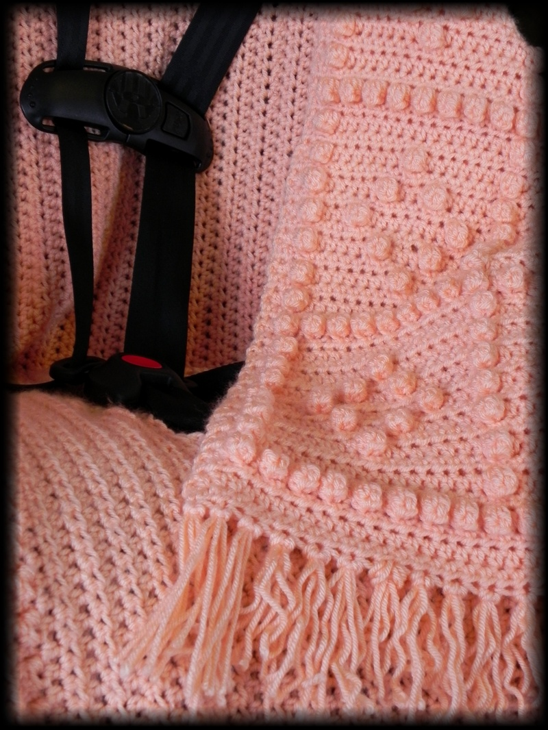 Exelent Crochet Car Seat Blanket Pattern Mold - Sewing Pattern for ...