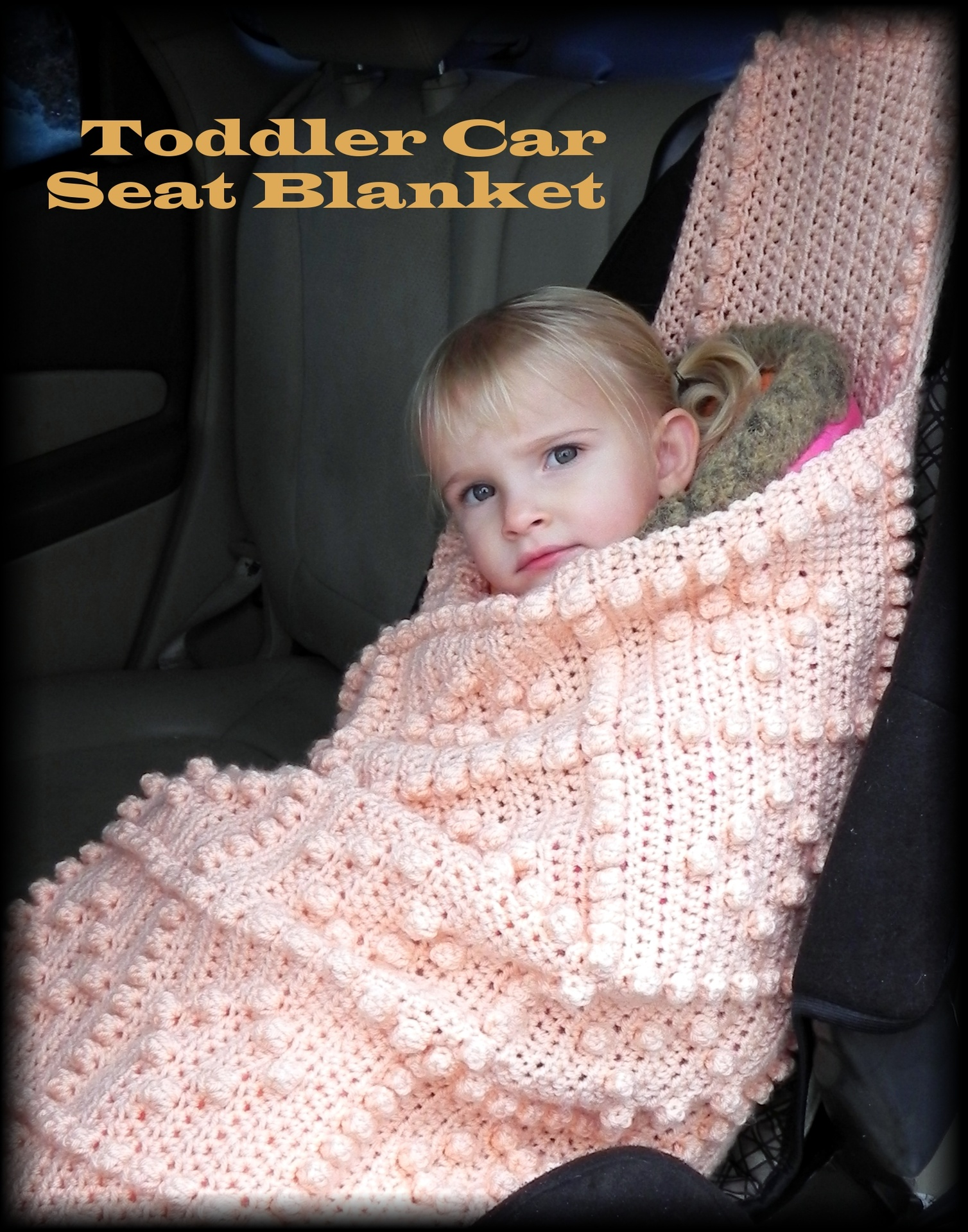 Colorful Baby Car Seat Blanket Crochet Pattern Gift - Great Sewing ...